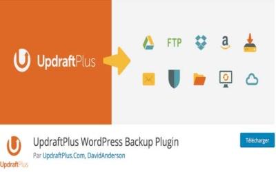 5 étapes pour sauvegarder son blog d'entreprise - Plugin WordPress gratuit pour sauvegarder son blog - UpdraftPlus