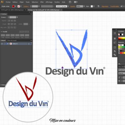 Comment créer un logo sous illustrator : définition des couleurs du logo !