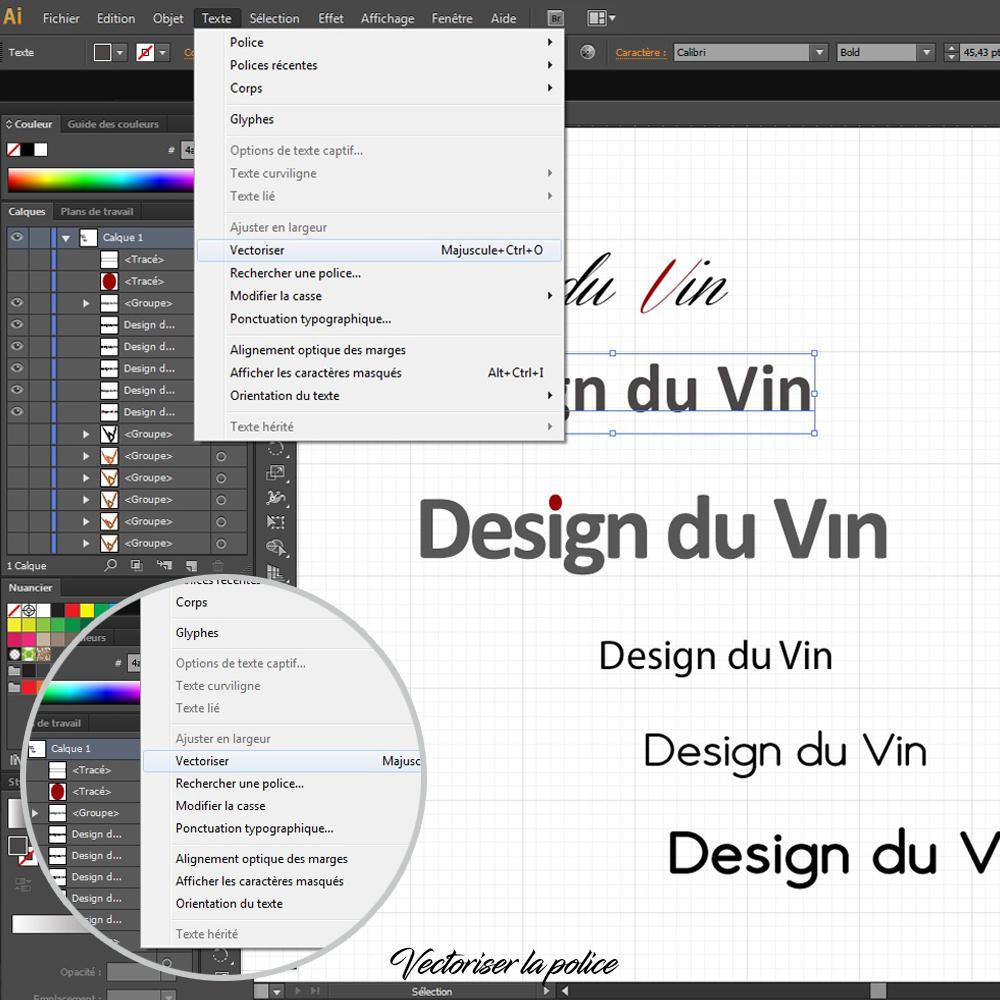 Comment créer un logo sous illustrator en 6 étapes : vectoriser vos textes