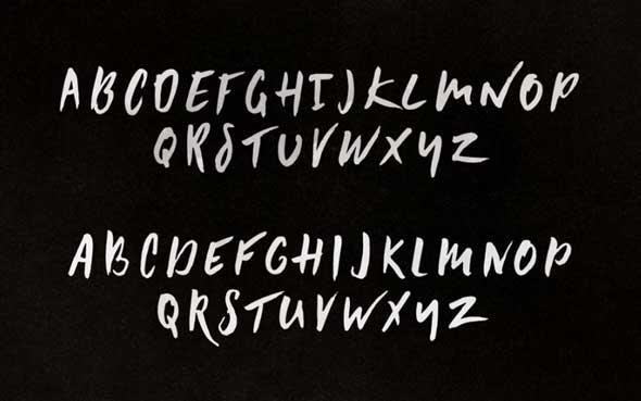 10 typographies gratuites à découvrir et à télécharger - Typographies Summer Hearts par Hustle Supply Co