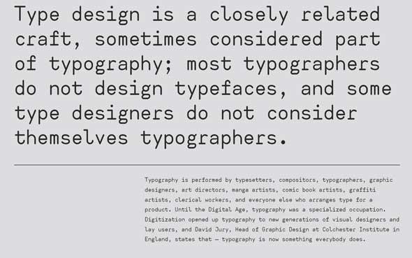 10 typographies gratuites à découvrir et à télécharger - Typographies sans empatement Ahamono de Alfredo Marco Pareil