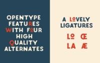 10 typographies gratuites à découvrir et à télécharger - Typographie Labours à l'esprit vintage par Fadhl Waliy Ul Haqq