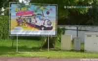 Panneaux publicitaires pour affichage événementiel grand format