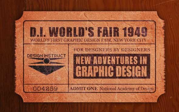 30 tutos photoshop pour créer des affiches publicitaires - tutorial affiche by Design Instruct on Webpage-FX