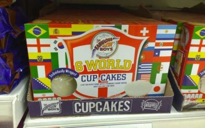 Packaging alimentaire spécial coupe du monde