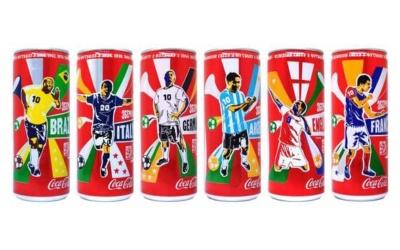 Inspiration de packaging de boissons de coupe du monde