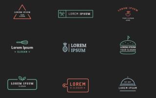 TUTO - 10 kits de création de logo gratuit à utiliser pour créer son identité visuelle.