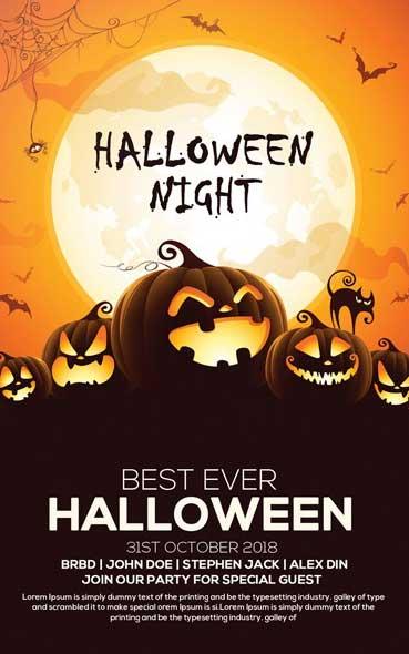 20 ressources graphiques spécial Halloween à télécharger - Les posters de création pour Halloween