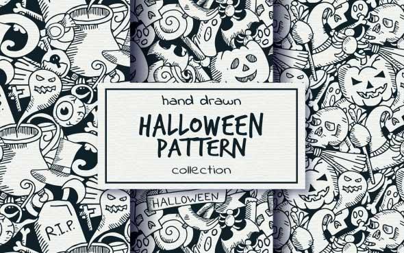 20 ressources graphiques spécial Halloween à télécharger - Les textures