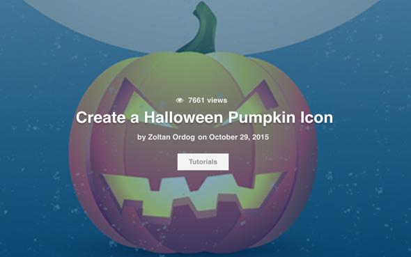 Tuto Illustrator gratuit spécial Halloween à télécharger