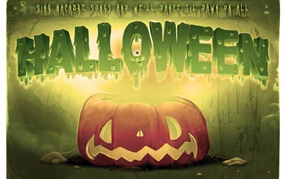 Tuto Photoshop gratuit spécial Halloween à télécharger
