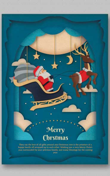 5 Tuto pour créer un flyer ou un poster pour Noel - By Eightonesix