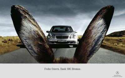 inspiration publicités créatives pâques