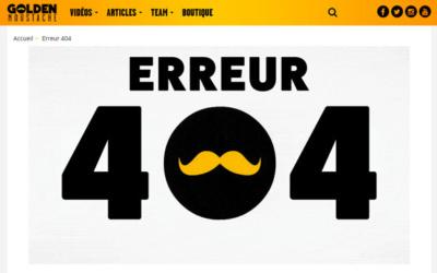 404 LOGO - 10 pages 404 à s'inspirer pour son site internet
