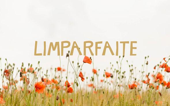 Typographie LIMPARFAITE à télécharger - Antoine Peltier