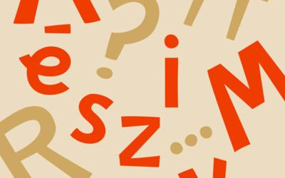 Typographie L'imparfaite à télécharger