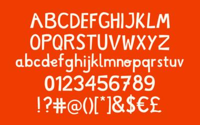 Typographie Limparfaite à télécharger